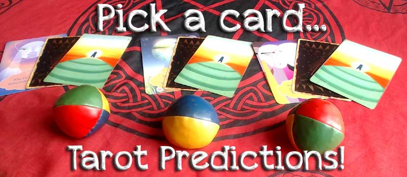 Pick a card Tarot Predictions! A Journey into your future