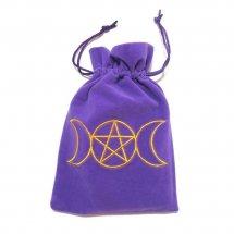 Triple Moon Purple Luxury Tarot Bag