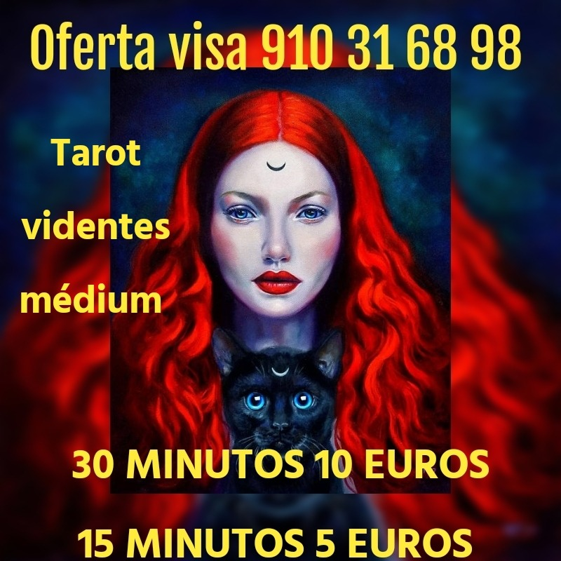 MEDIUM ,VIDENTES Y TAROTISTAS CON AÑOS DE EXPERIENCIA 15 MINUTOS 5 EUROS