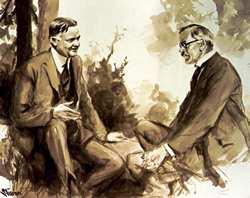 Hoover-MacDonald Meeting