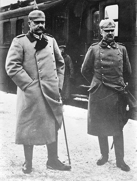 Hindenburg and Ludendorf