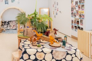 Tarragindi Child Care Centre Emu's Dinosaur Table