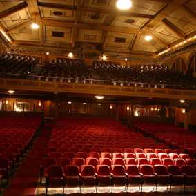 The Music Hall audience, Tarrytown, NY