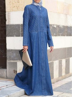 Denim-Abaya-2018-Online-In-Pakistan