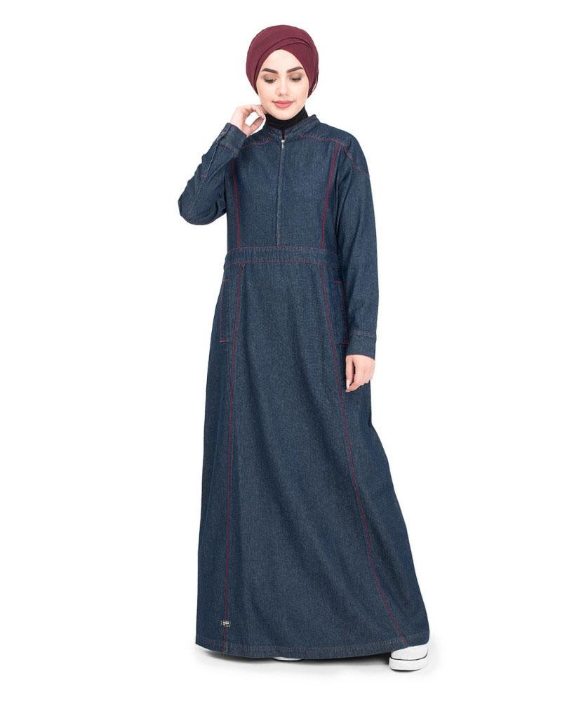 Women-Islamic-Dress-Denim-Abaya-Turkish-Coat-Jilbab-2018-Designs-Shop-Now-In-Pakistan