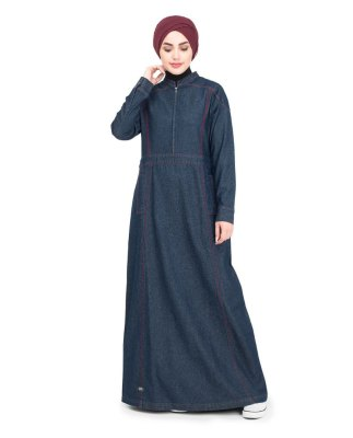 Women-Islamic-Dress-Denim-Abaya-Turkish-Coat-Jilbab-2018-Designs-Shop-Now-In-Pakistan