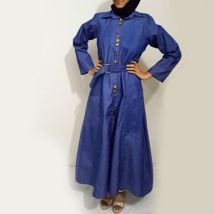 Denim-Abaya-Front-Metal-Buttoned-Online-Shopping-In-Pakistan