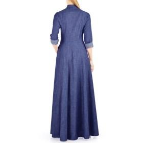 Blue-Jilbab-Denim-open-abaya-latest-design-2018-in-pakistan
