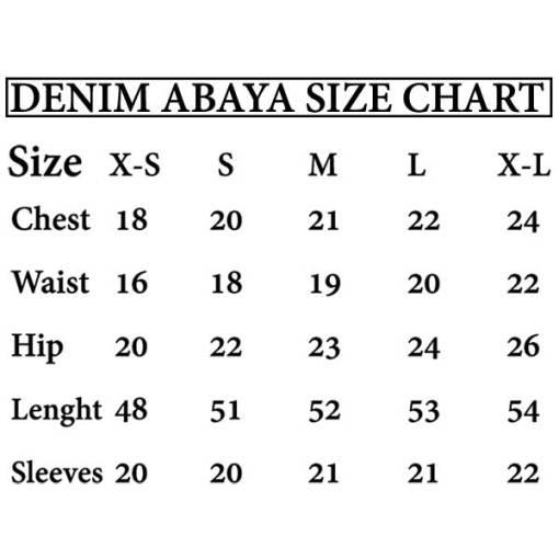 DENIM-ABAYA-SIZE-CHART