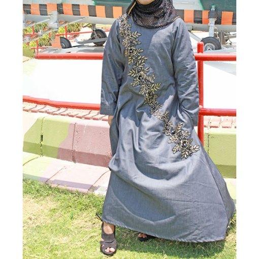 Buy-Front-Embroidered-Denim-Abaya-Online-In-Pakistan....