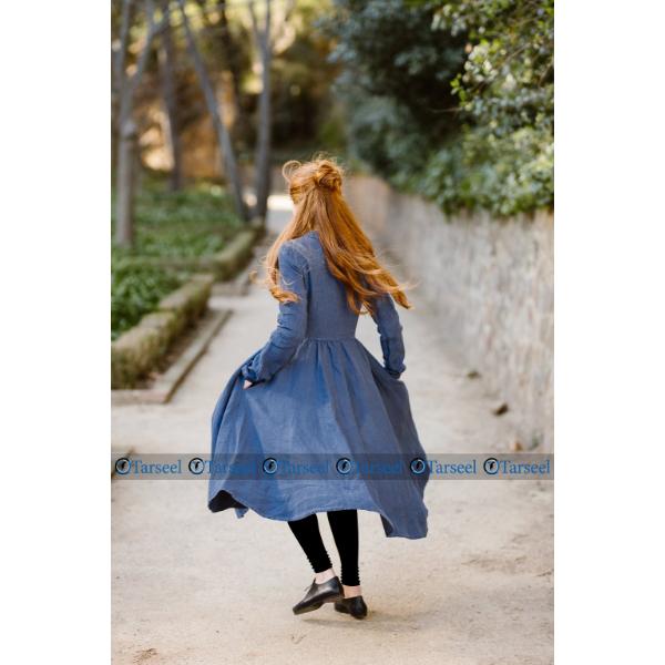 Denim Frock Style Abaya