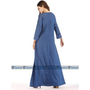 Stylish Denim abaya