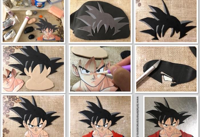 Tarta Dragon Ball Tarta De Manzana