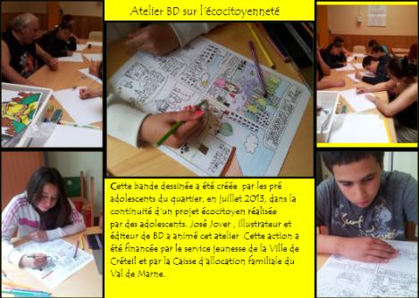 Atelier BD Créteil