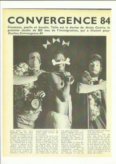 Article Anita Comix Zoulou 1984