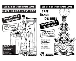 BD et Immigration expo Toulon 2005