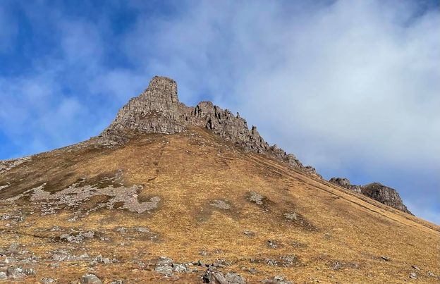 The back of Stac Pollaidh