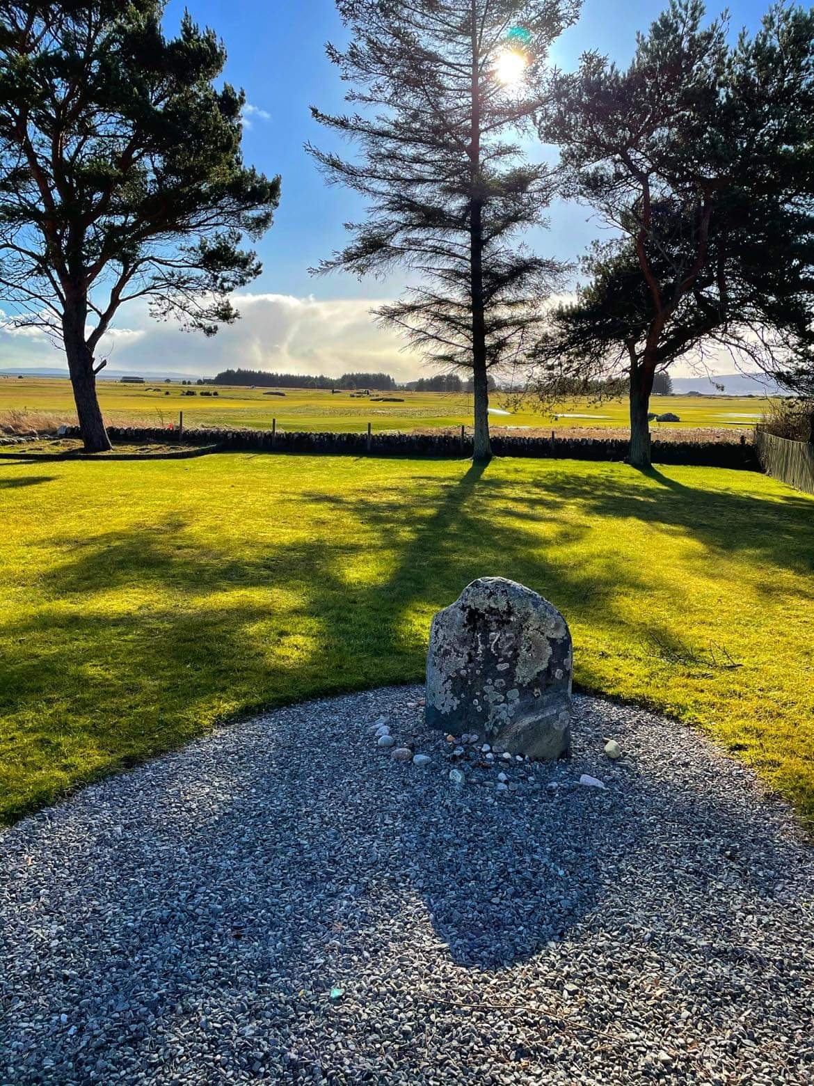 Stone to mark the last witch of Dornoch