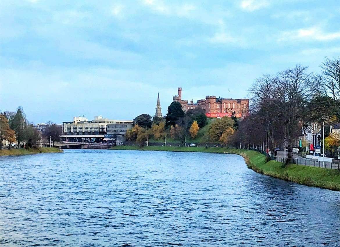 Inverness Castle and River Ness Inverness