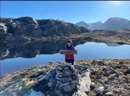 Small Loch at top of Beinn Eighe NC500