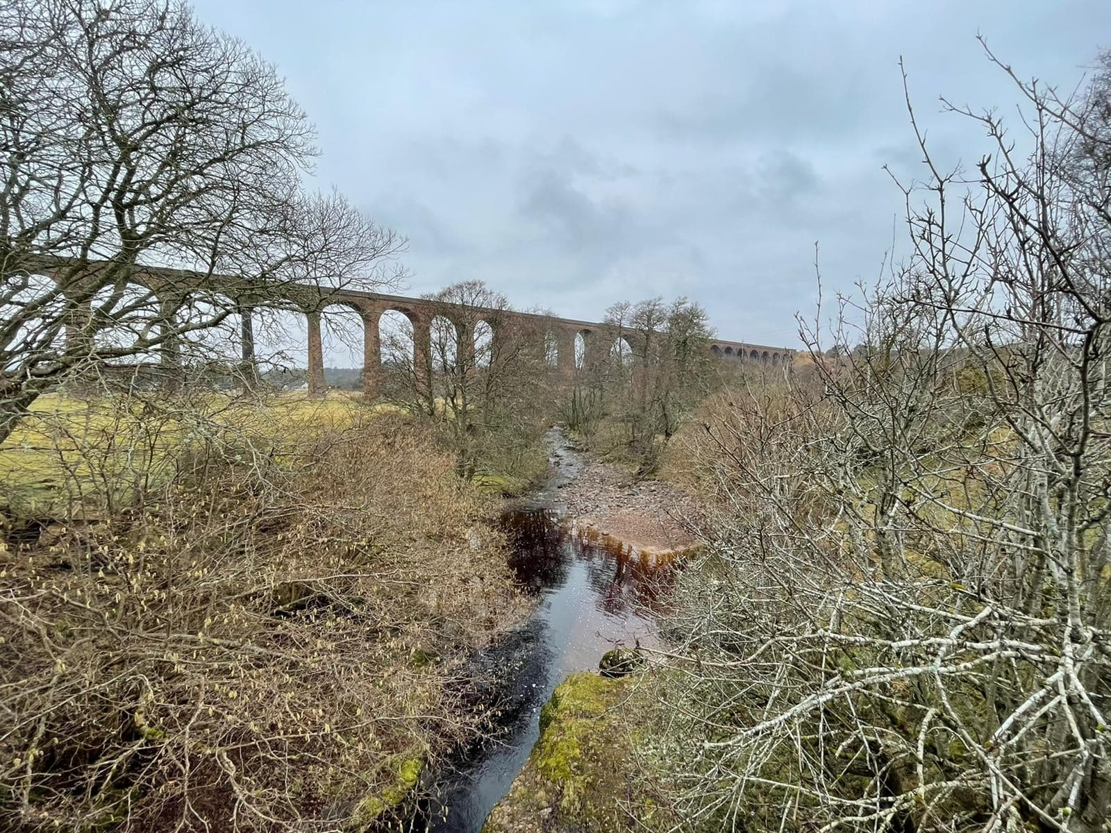 Culloden Viaduct From Distance Highland
