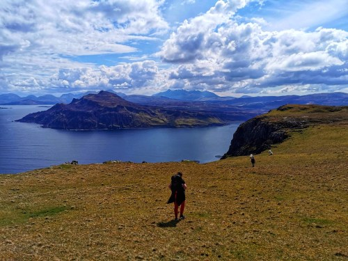 Day 3 of the skye trail storr to portree