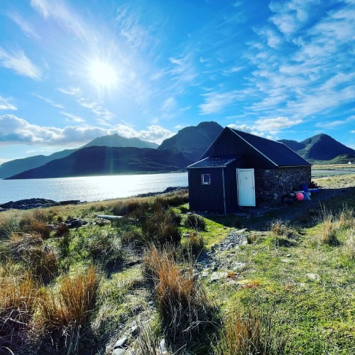Bothy we stayed in on the skye trail