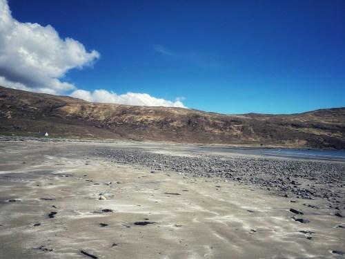 Beach on the skye trail