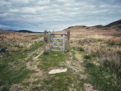 gate on skye trail