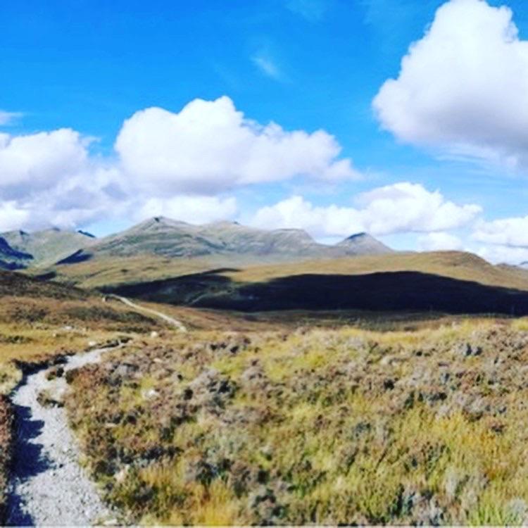 West highland way scenery