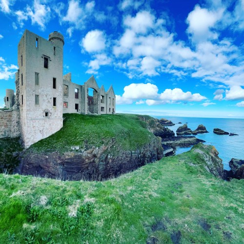new slains castle ruins