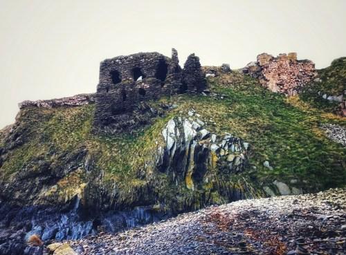 ruins of findlater castle