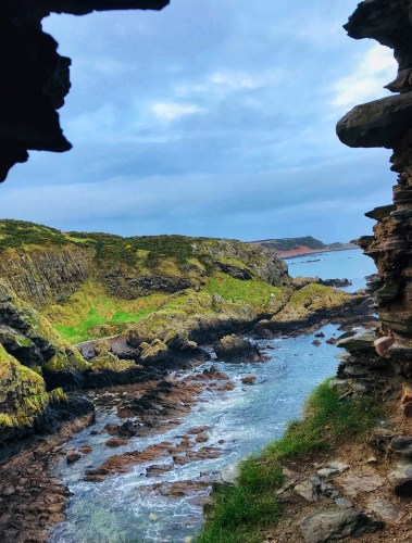 view from findlater castle