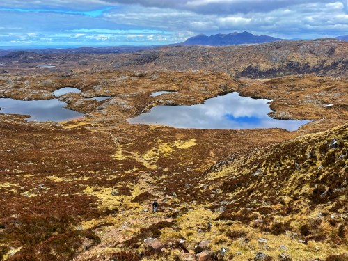 The view from Suilven