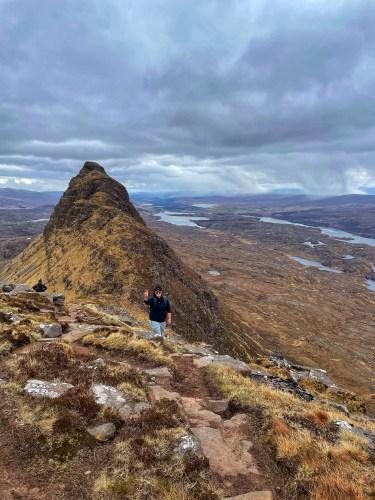 Ridge of Suilven
