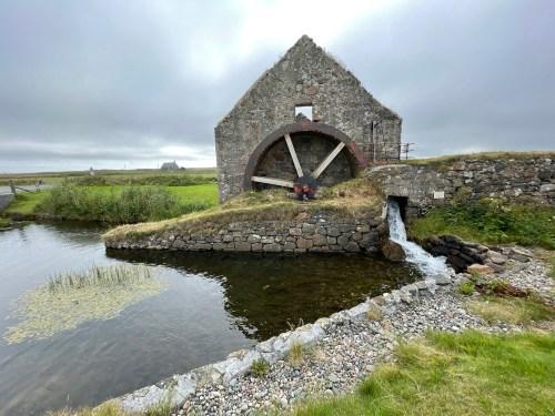 Water mill at Corniag