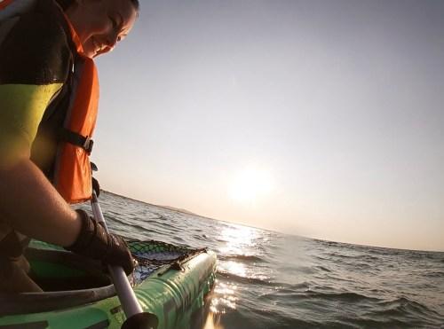 Kayaking at Balephetrish