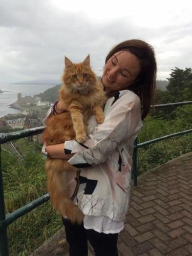 Parsley Obans famous cat