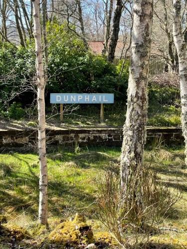 Dunphail sign