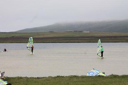 Wind surfing tiree