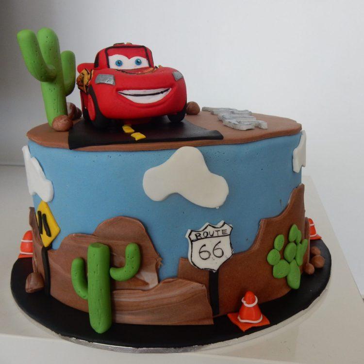 Pastel de Cars
