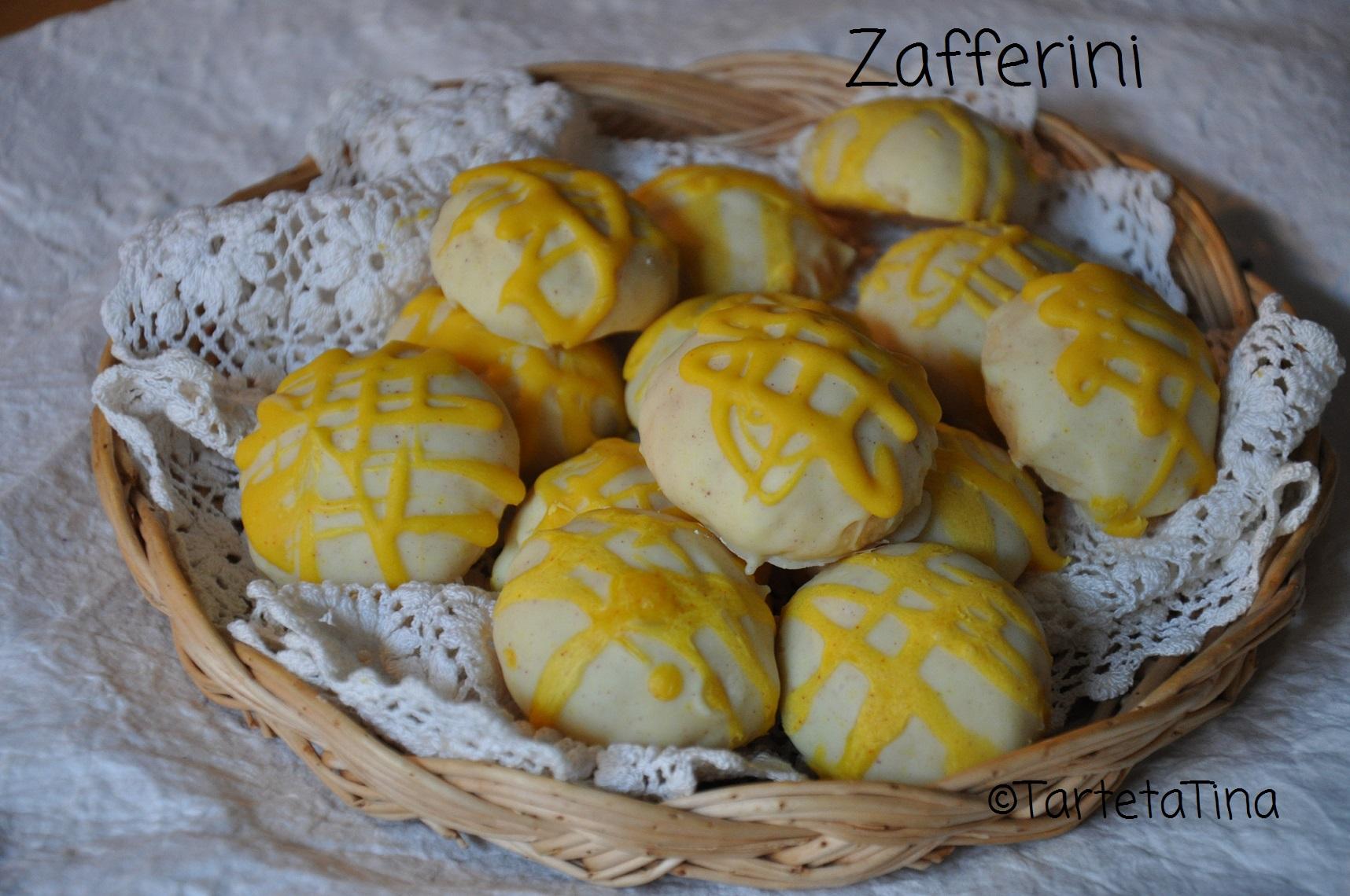 Zafferini – Biscotti all'arancio cioccolato e zafferano