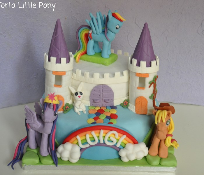 Torta di compleanno My Little Pony