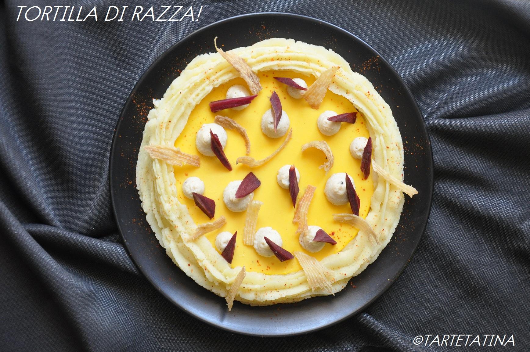 Tortilla di razza! Tortilla creativa per #MTC72
