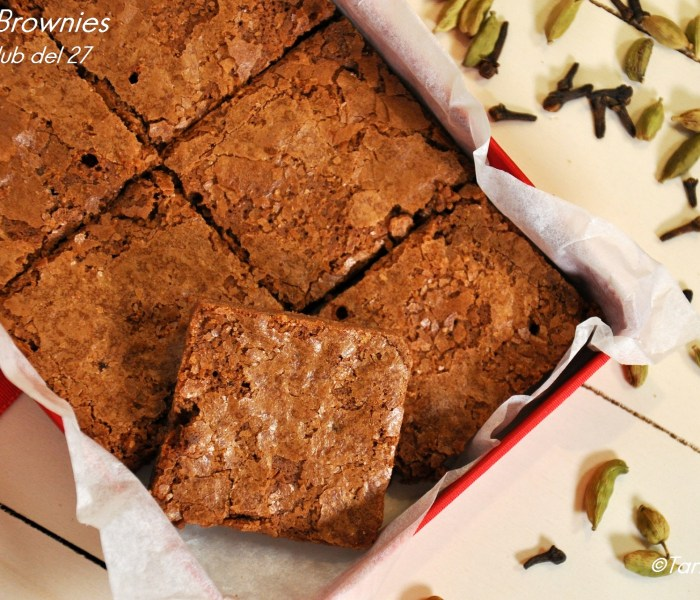 Chai brownies per il Club del 27