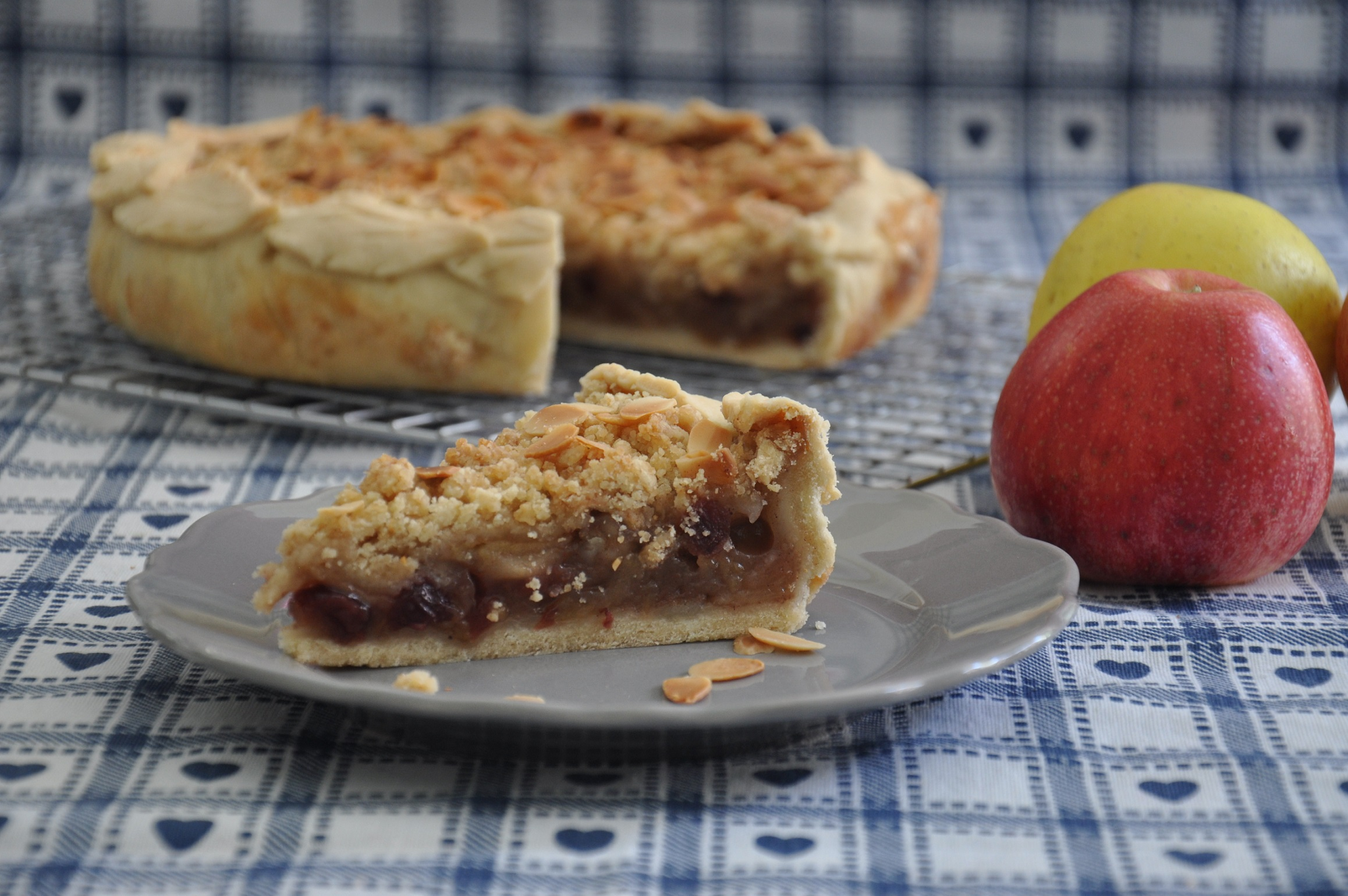 La mia Harvest Apple Pie per il Club del 27