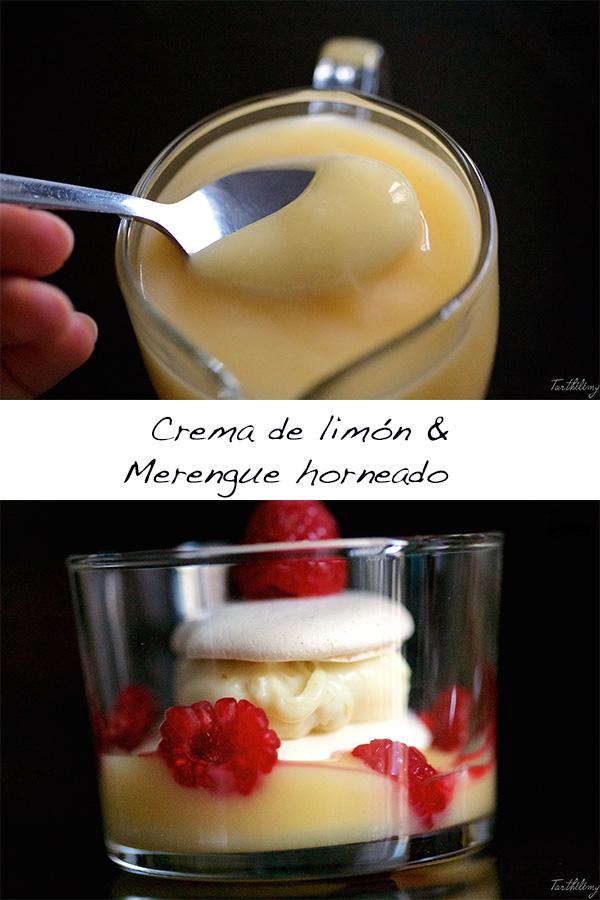 Crema de limón y merengue