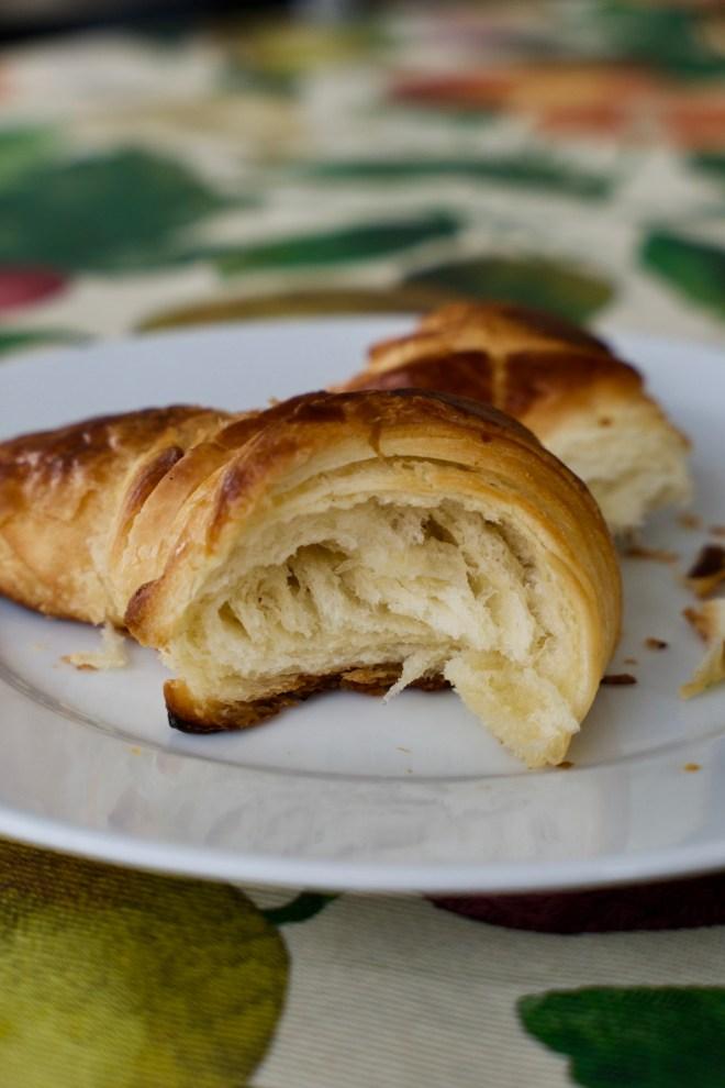 Brunch con croissant