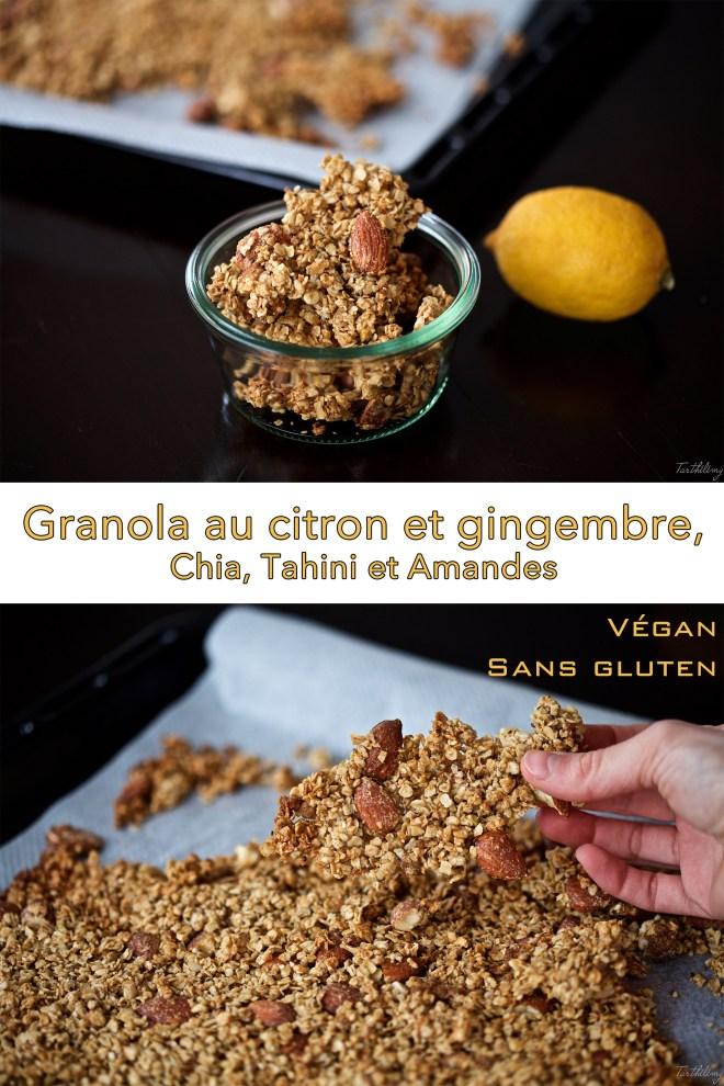 Granola au citron