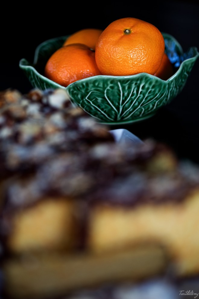 Bizcocho de mandarina y almendras